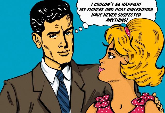 EyeSpyU.com Catch a Cheater Unfaithful Man Bubble